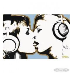 Steez Poster - girls kissing