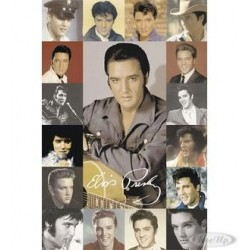 ELVIS PRESLEY COMPOSITE Collage Poster