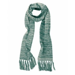 Scarf with frings