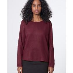 plain, woven blouse