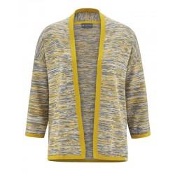 knit jacket 3/4