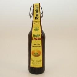 Hanf-Lager Dunkel  ( Hanf / Bier Mischgetränk ) 0,5 Ltr. zzgl. 0,60€ Pfand